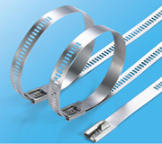 Stainless Steel Cable Ties-Ladder Multi Barb Lock Type