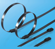 Stainless Steel Epoxy Coated Cable Ties-Ball Lock Type 2