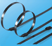 Stainless Steel Epoxy Coated Cable Ties-Ball Lock Type 3