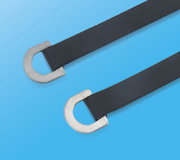Stainless Steel Epoxy Coated Cable Ties-Ring Type